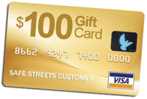Free Visa gift card with ADT activation