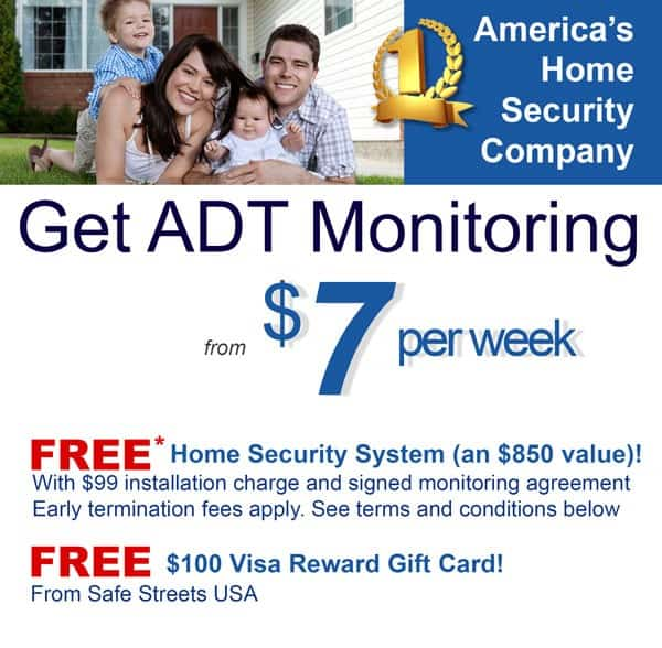 order ADT home security online today